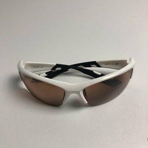 New Balance White Sunglasses Mens
